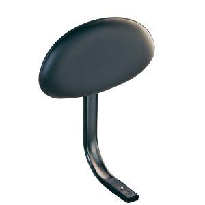 K&M Rückenlehne für Verfolgerstuhl / Stehhilfe (schwarzes Kunstleder)