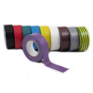 """Isolierband 590-1910RB """"Rainbow"""" 19mm x 10m - Set aus 10 Farben"""
