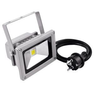 Eurolite LED IP FL-10 COB 3000K Warmweiß, 120° Abstrahlwinkel, 550 Lm, 10w LED, für Innen- und Außen IP54