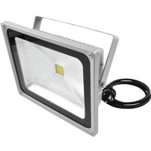 Eurolite LED IP FL-50 COB 3000K Warmweiß