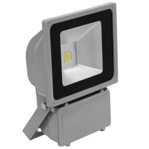 Eurolite LED IP FL-80 COB 3000K Warmweiß