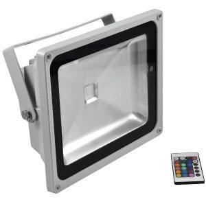 Eurolite LED IP FL-50 COB RGB, mit Fernbedienung