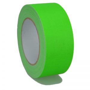 Gaffer Tape Markierungsklebeband 649-50GR - neon Grün MATT 50mm x 25m