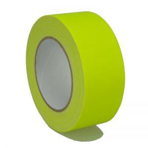 Gaffer Tape Markierungsklebeband 649-50GE - neon Gelb MATT 50mm x 25m