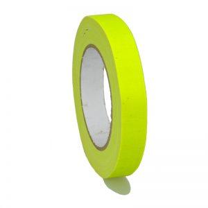 Gaffer Tape Markierungsklebeband 649-19GE - neon Gelb MATT 19mm x 25m