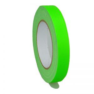 Gaffer Tape Markierungsklebeband 649-19GR - neon Grün MATT 19mm x 25m