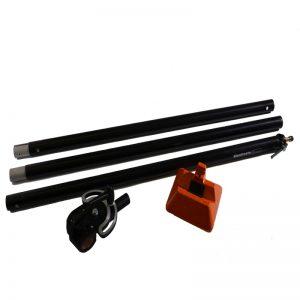 Manfrotto 085BSL Galgen und Gewicht ohne Stativ Light Boom 35 schwarz