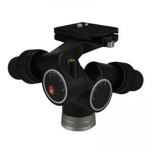 Manfrotto 405 Getriebeneiger Pro-Digital mit Schnellwechselplatte 410PL Belastung 7,5 kg