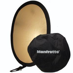 Manfrotto Avenger I3834 Oval Reflektor Silber/Gold (95cm x 70cm)