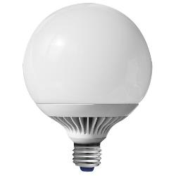 Müller 15 W LED mit E27 Fassung Globe (ersetzt 66W) DIMMBAR und 270° Abstrahlwinkel