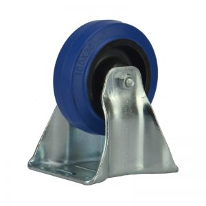 Penn Elcom W0975 Blue Wheel 100mm Bockrolle Blau