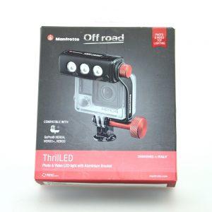 Manfrotto MLOFFROAD Off road ThrilLED Licht und Halterung für GoPro Kameras